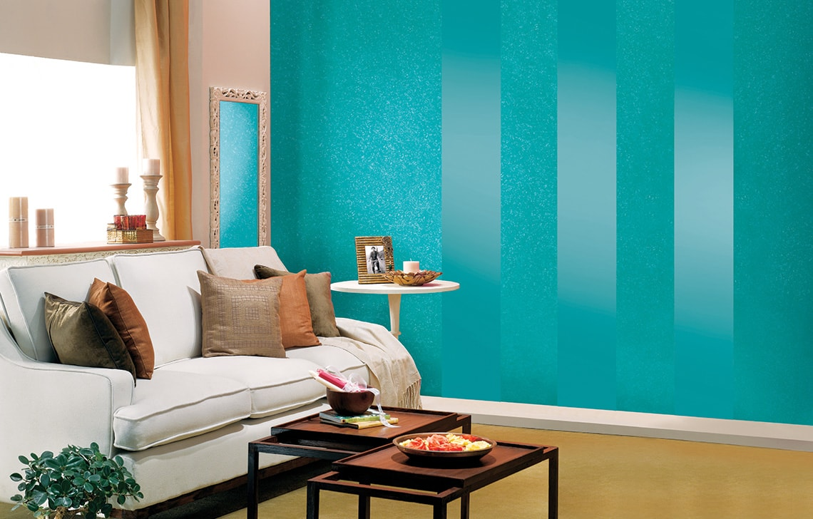 High Wall Living Room Paint