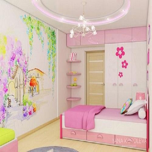 Hello Kitty Kids Room Pop Ceilingfalse Ceiling Design Freshhomez