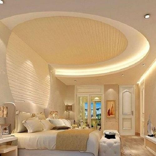 Modern Luxury Spiral Pop Ceiling