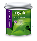 Asian paints Royale Health Shield
