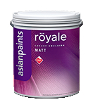 Asian paint Royale Matt Emulsion