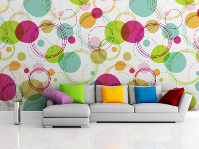 Fantasy of Colorful Circles