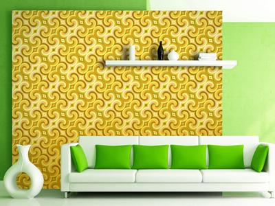 Golden Yellow Seamless Patte